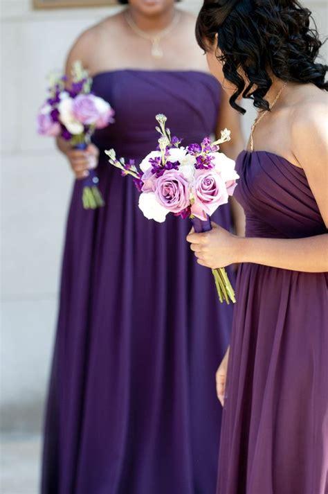 Bridesmaid Dresses Dc Area - beautiful purple bridesmaids from jamaal cheree s purple
