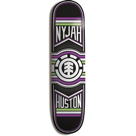 element deck element nyjah ride skateboard deck evo outlet