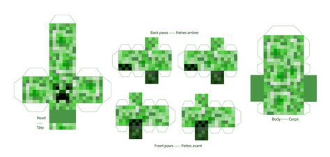 How To Make A Paper Creeper From Minecraft - craft your creeper by horphelia on deviantart