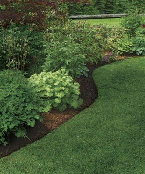 landscape bed edger landscape around trees natural border separating grass