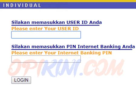 bca login cara daftar internet banking bca dan aktivasi keybca
