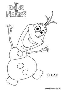 olaf coloring page free coloring pages of olaf