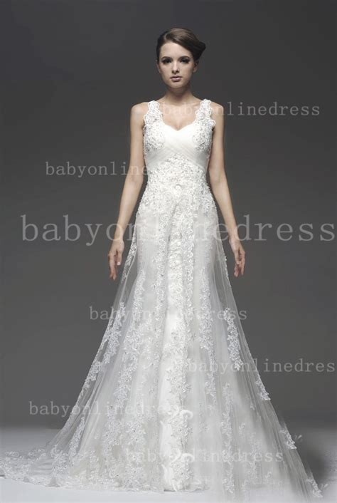 Cheap Wedding Dresses For Sale by Cheap Tulle Lace Wedding Dresses For Sale 2014 Straps