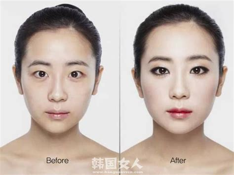 tutorial make up ala korea before after korean makeup before and after saubhaya makeup