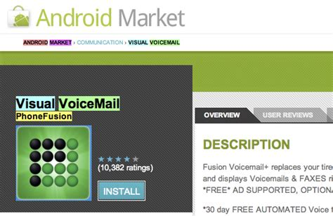 best voicemail app for android android market slashgear page 8