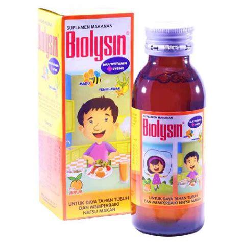 Vitamin Biolysin biolysin syrup 100ml gogobli