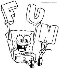 spongebob squarepants coloring pages spongebob squarepants color page color pages
