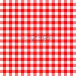 and white checkered tablecloth clip picnic