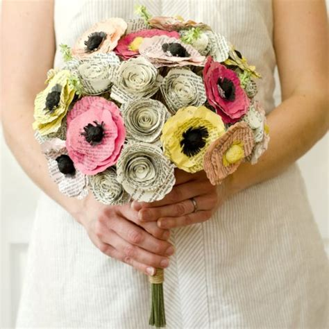 Wedding Bouquet Made From Books by 7 Inspirational Ideas For Your Book Themed Wedding