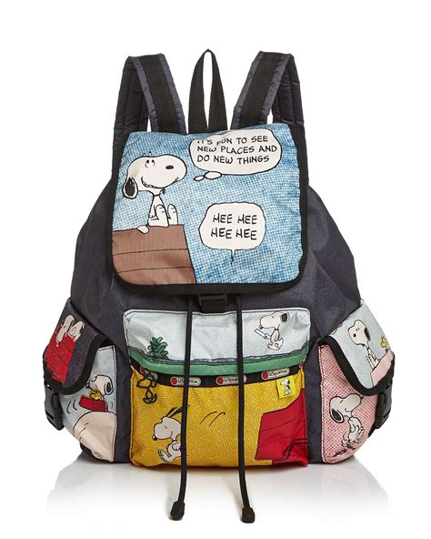 How To Become An Interior Designer lesportsac peanuts snoopy voyager backpack lyst