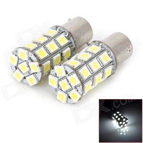 Lu Mundur Mobil Led P21w Ba15s 1156 8 Cob 1pcs 1156 ba15s p21w 5w 300lm 27 5050 smd led white light car turn brake l 12v