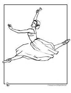 ballet ballerina az coloring pages