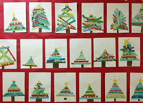 1st grade christmas art projects tour grade onederful