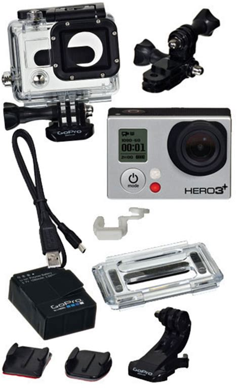 Gopro 3 Plus gopro 3 plus silver edition helmet sport gopro outdoor power