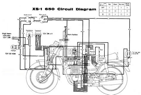 chopper wiring diagram amazing yamaha xs electrical auto