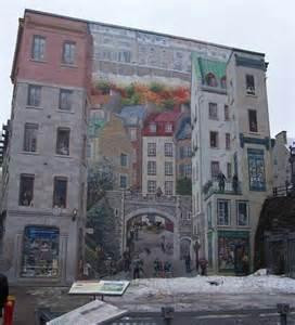 Hand Painted Murals On Walls fresques murales de l arrondissement de la cit 233 224 qu 233 bec