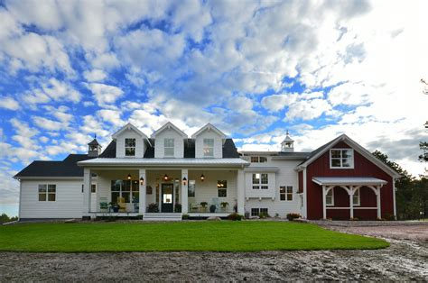 farmhouse com modern meets traditional in this award winning farmhouse
