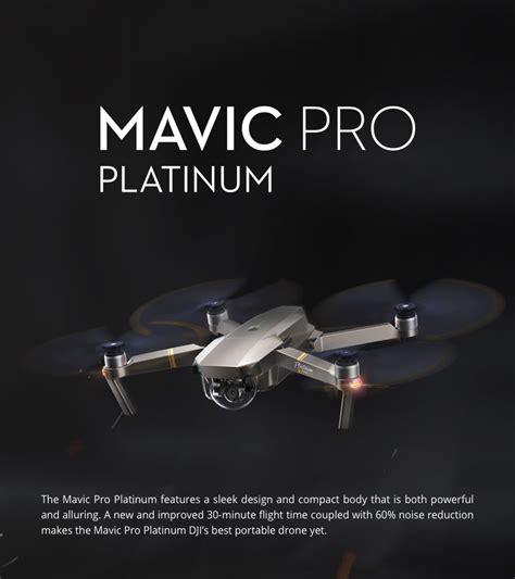 Dji Drone Mavic dji mavic pro platinum foldable drone rtf fly more combo