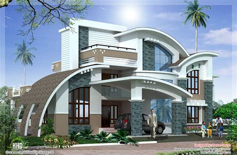 home desing modern mix luxury home design kerala home