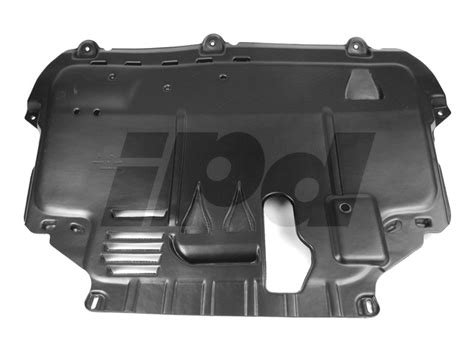 volvo hd  engine air guide splash cover fwd p