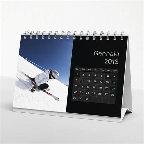 calendario da tavolo con foto calendario da tavolo black 02 21x15 cm il fotoalbum