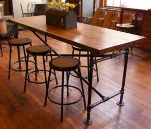 Industrial Bar Height Dining Table 1000 Ideas About Bar Height Table On Dining