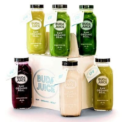 Detox Juice Toronto by Buda Juice Organic Shops 1125 N Service Road