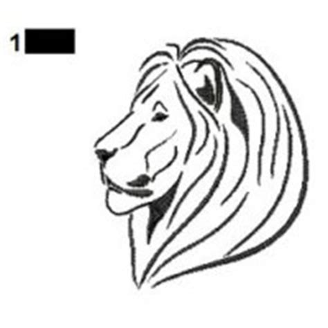 cartoon lion tattoo designs lions tattoos embroidery designs