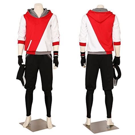 Go Trainer Sweater Jacket Anime Orange cosplay24