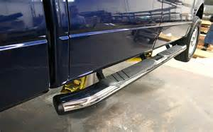 Truck Steps Ford Automatic Side Steps For Ford Trucks Autos Weblog