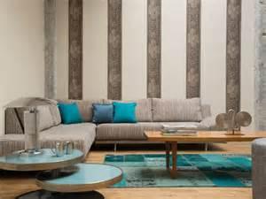 Moderne Tapetenmuster Wohnzimmer 20 Ideen F 252 R Moderne Muster Tapeten Erfrischen Die Einrichtung