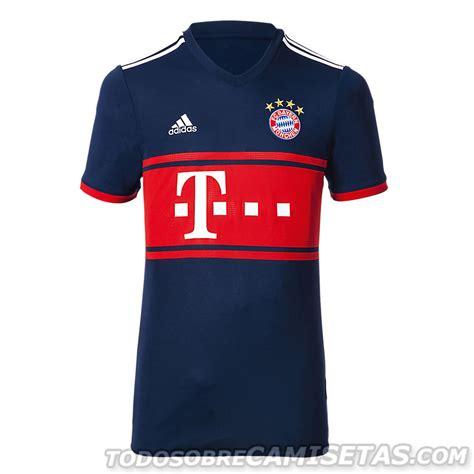 Bayern Muenchen Away bayern m 252 nchen 2017 18 adidas away kit todo sobre camisetas