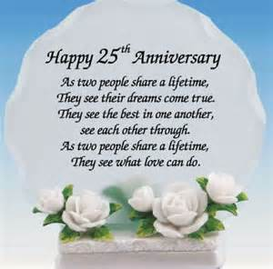 25th wedding anniversary quotes to my husband happy 25th wedding anniversary quotes like success