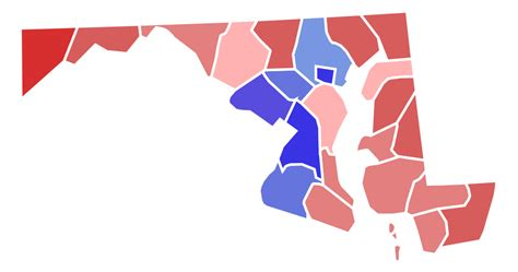 maryland election map 2012 file maryland senate election results by county 2016 svg