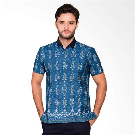 Baju Batik Pria Model Kemeja Slimfit Harga Terjangkau Bagus jual adiwangsa model modern slim fit baju kemeja batik pria 011 harga kualitas