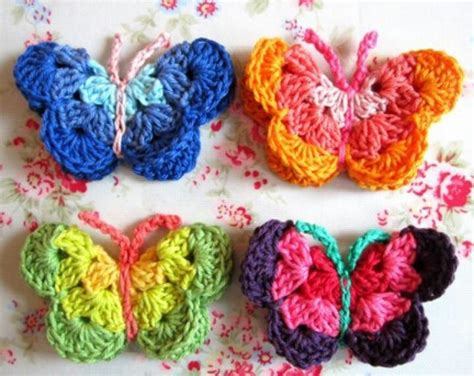 butterfly pattern in crochet crochet butterfly knit crochet and fiber addict pinterest