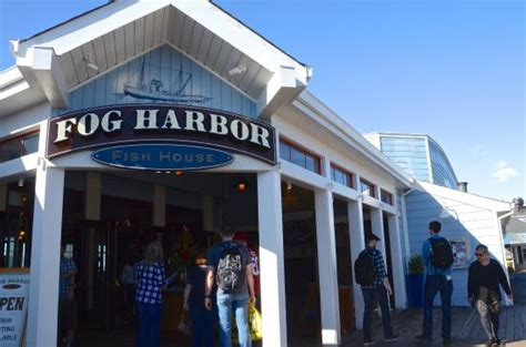 fog harbor fish house menu fog harbor restaurant picture of fog harbor fish house san francisco tripadvisor