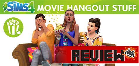 film hangout review review the sims 4 movie hangout stuff pack pc sa gamer