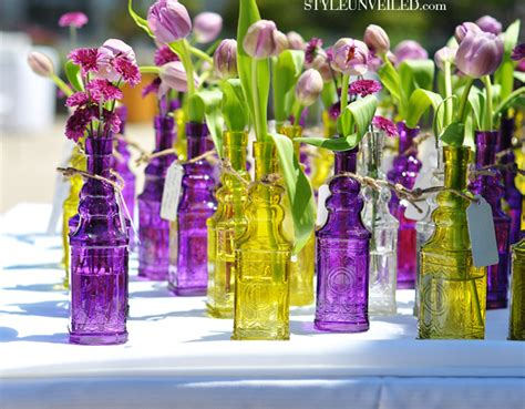 Recycled Wedding Decorations by Recycle Bottle Centerpieces The Magazine