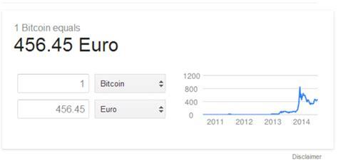 bitcoin euro google suche w 228 hrungs umrechner beherrscht jetzt auch