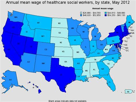 health care social worker salary healthcare salary world