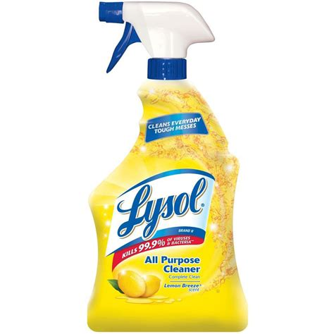 lysol  oz lemon breeze  purpose cleaner   home depot
