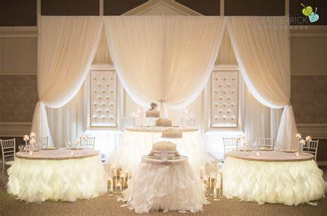 Round table head table wedding top table decor ideas