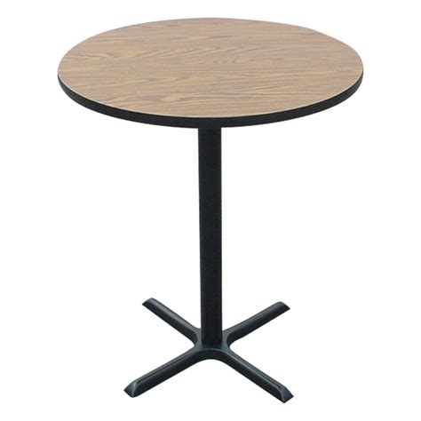 Stool Table Height by Correll Stool Height Cafe Table 36 Quot Diameter