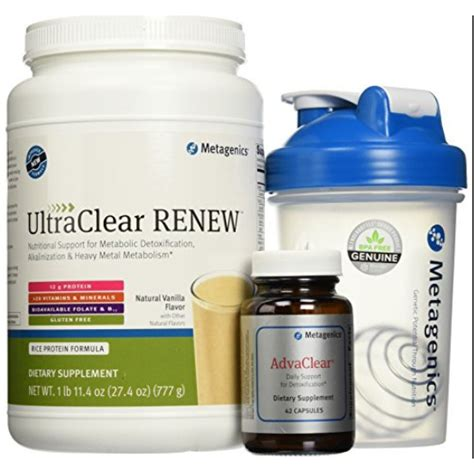 Metagenics Ultra Clear 28 Day Detox Program by Metagenics Clear Change 10 Day Detox Program With