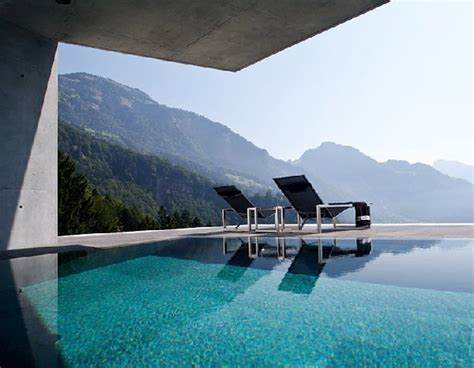 Modern Concrete Home Overlooking the Swiss Alps ? Enpundit