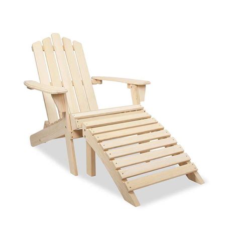adirondack chair and ottoman adirondack chair and ottoman set