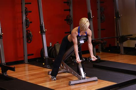 seated barbell curl on decline bench spa juice august 2012