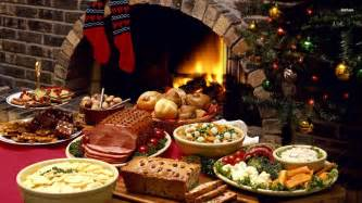 christmas dinner wallpaper holiday wallpapers 12381