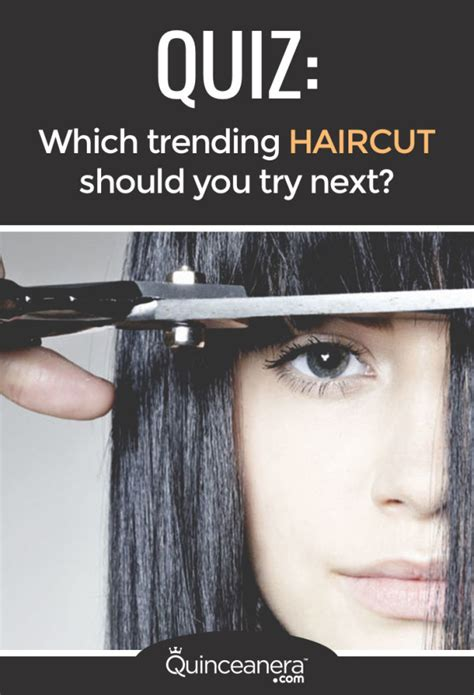 quiz which trending haircut should you try next